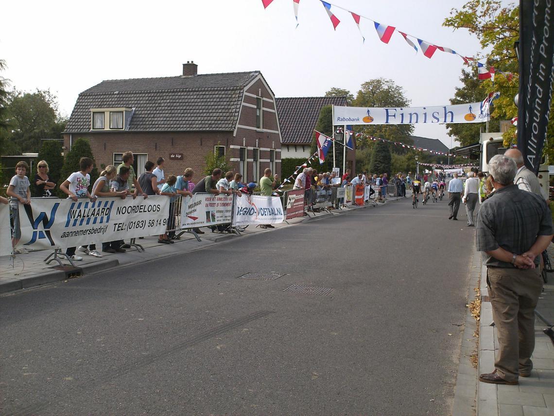Finishstraat Wielerronde van Ameide, Paramasiebaan